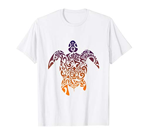 Schildkröte Shell mit Artistic Design Reptile T Shirt