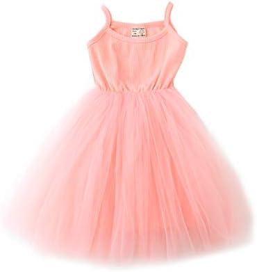Baby Girls Tutu Dress Sleeveless Infant Toddler Sundress Tulle Bubble 5 Layers product image