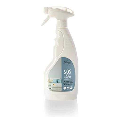 Hagerty - SOS Spot Remover - Smacchiatore spray rapido per tappeti, tessuti d\'arredamento, tessili e sedili auto. Come pretrattante per tutti i tessili lavabili - 500ml