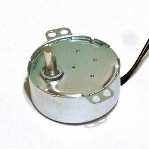 R&B Pyramidenmotor Import 220V, B 49 mm, 3 Umdrehungen/min