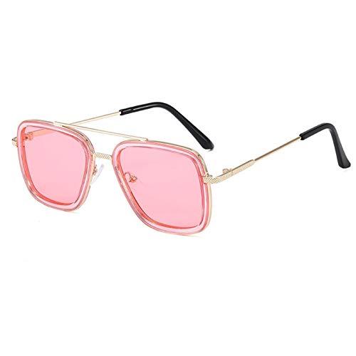 DFSMG Gafas de Sol de Pesca Square Deporte al Aire Libre Gafas de Pesca Gafas de Sol Deportes Gafas de Sol (Color : 06)