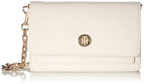Tommy Hilfiger Honey, Borsa. Donna, White Dove, One Size