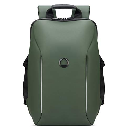 delsey-paris-securain-water-resistant-laptop-backpack-army-green-one-size
