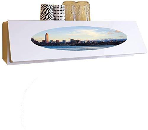Botellero rústico apilable, Fondo de madera de almacenamiento Gabinetes decoración de la pared montado en la pared de almacenamiento Gabinete de pared gabinete del vino vino rack 110 20 30 cm (Color: