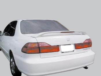 Accent Spoilers- Spoiler for a Honda Accord 4-Door Factory Style Spoiler 1998-2002 Milano Red Paint Code: R81