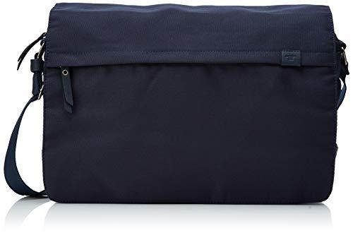 TOM TAILOR Umhängetasche Herren, Blau, Simon, 40x11,5x28 cm, TOM TAILOR, Messenger Bag, Herrentasche