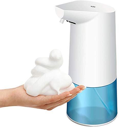 Dispensador de jabón automático, 350 ml sin Contacto Manos Libres, con Taza de medición, dispensador de jabón para Cuarto de baño, Aseo, Cocina, Oficina, Hotel