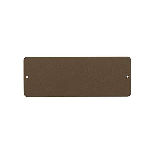 Kalamitica 24009-810-024 Pizarra magnética, Acero, Corten, 9x24 cm