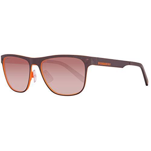 Dsquared2 Sonnenbrille DQ0222 50F 56 Herren Braun