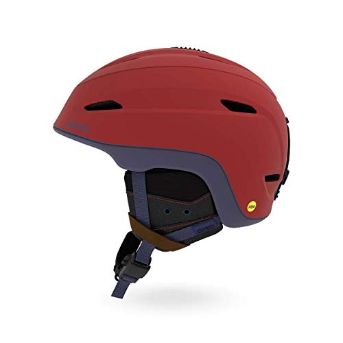 Giro Herren Zone MIPS Skihelm, m Dark red/Midnight Sierra, L