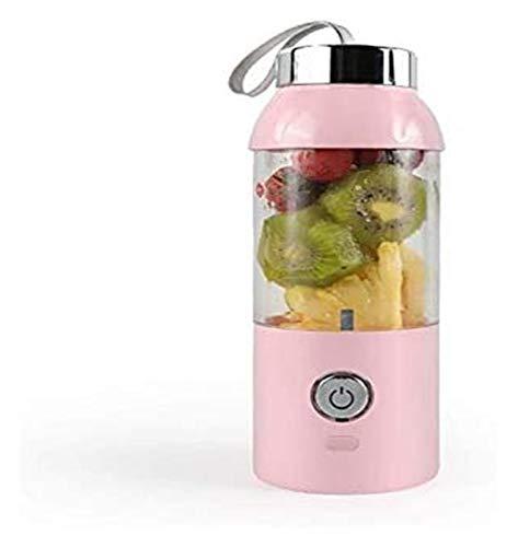 Portable Electric Juicer 550ML Wireless Automatic Multipurpose Mini USB Rechargable Juice Cup Blender juicer machines LHAHGLY (Color : C)