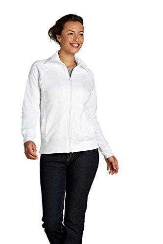 Sol'S Soda - Veste Femme zippée avec col Montant - Sweat en Molleton - Coupe cintrée - Gris Chiné Foncé - S