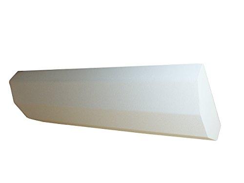 Fenix 5401306 verwarming exclusief, infrarood verwarmingszuil voor wandmontage of voor opstelling op de vloer, door montage boven elkaar uit te breiden, 600 W, 1200 x 400 x 160 mm, IP: 20, 11,6 kg
