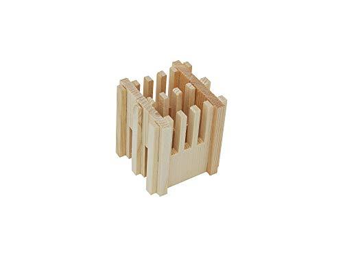 Accendifuoco naturale 100% di legno abete, indispensabile per accensione ecologica della vostra legna da ardere per stufa a legna, caminetto, forno pi