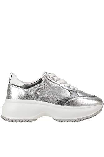 Hogan Maxi I Active Sneakers Woman Silver 39 IT