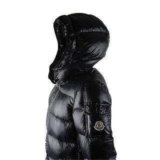 『MONCLER:モンクレール レディースダウンジャケット BERRE ブラック(999) 並行輸入 (1)』の3枚目の画像