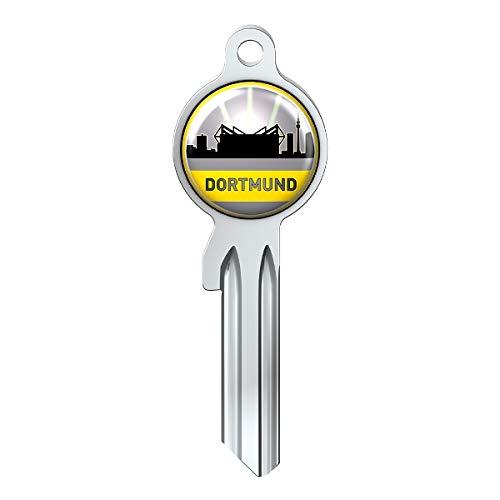 Basi Fanschlüssel Schlüsselrohling Schlüsselanhänger Fanartikel Schlüsseldienst City-Key Skyline Dortmund