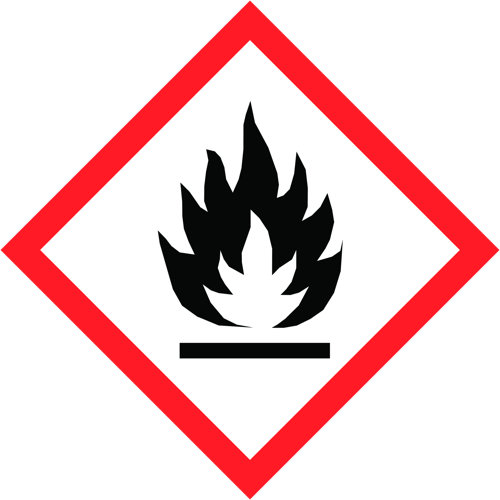 Extremely flammable gas