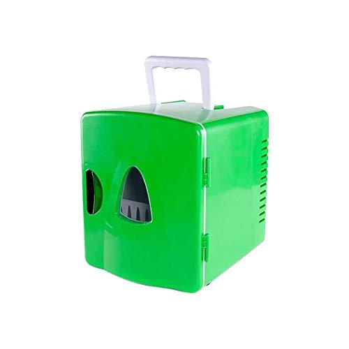 QJY Kleine veiligheidskoeler, elektrisch, koelapparaat, 8 l, mini-koelkast, koeler en compact en draagbaar