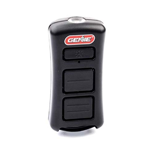 Genie 2-Button LED Flashlight Garage Door Opener Remote - Remote Controls up to 2 Genie Garage Door Openers - Includes LED Flashlight & Lanyard For Easy Carrying - Model GL2T-R