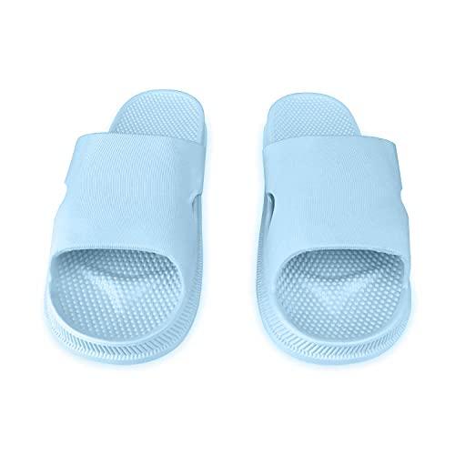 MLLM Zapatillas de baño unisex, zapatillas de pareja ultrasuaves; hotel anti-arena-P_42, casa suave Flip Flop zapatos