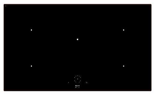 1758 NOVY Comfort induction 5 zones 90 cm facet 5 mm