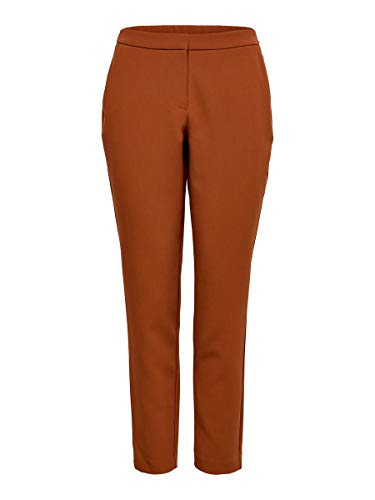 Only ONLINCA MW Cigarette Pants CC TLR Pantalón, Marrón (Ginger Bread Ginger Bread), 38 para Mujer