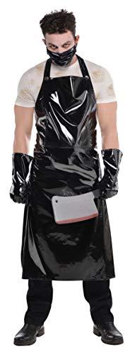 amscan Butcher Costume Accessory Kit – Adult Standard, Multicolor