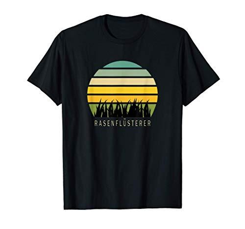 Rasenflüsterer, Lustiges Gärtner Motiv Rasenpflege Garten T-Shirt