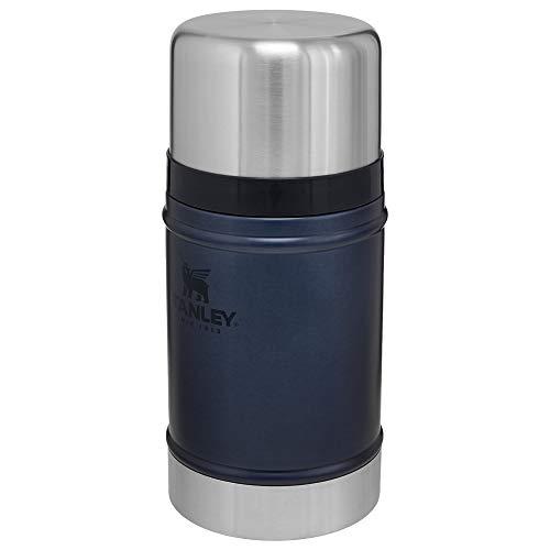 Stanley Classic Legendary Food Jar 0.7L / 24OZ Nightfall – Lunchbox houdt 15 uur warm, 18 uur koud | Levenslange garantie | Deksel is ook kom | Lekvrij | BPA-vrij | Vaatwasserbestendig