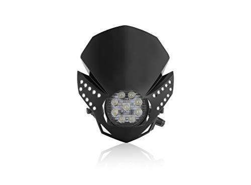 LED-Maske, Fulmine, Schwarz