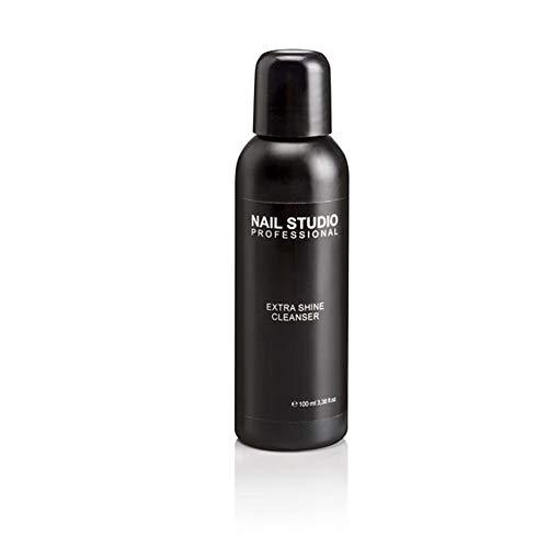 Nail Studio - Extra Shine Cleanser, Cleaner Sgrassatore per Unghie, Sgrassante e Lucidante per Gel e Semipermanente - Formato 100 ml