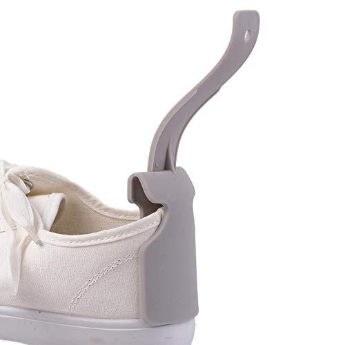 LINKLANK 1 Stück Schuh-Helfer, Schuhentferner, Schuh-Abisoliergerät, tragbarer Schuh-Helfer, Unisex, mit Griff, einfaches An- und Ausziehen