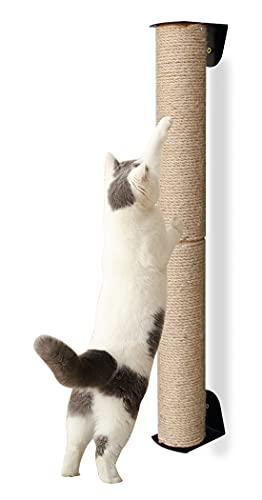 Ripiani per tiragraffi da parete per gatti, montaggio a parete, per gatti e gatti di grandi dimensioni, tiragraffi per arrampicata (60 cm)