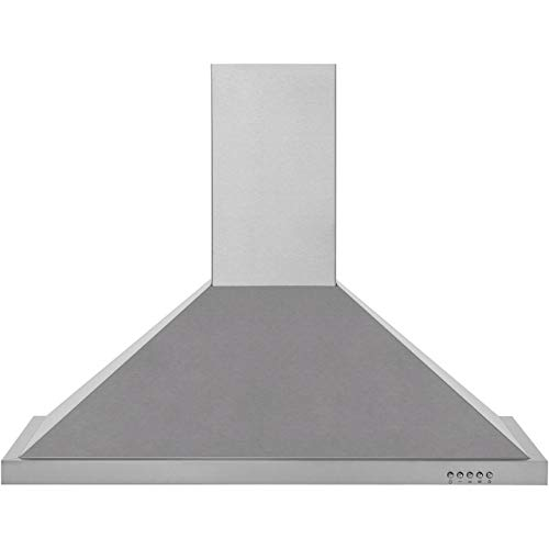 Baumatic BECH90X C Rated  Cooker Hood - Stainless Steel