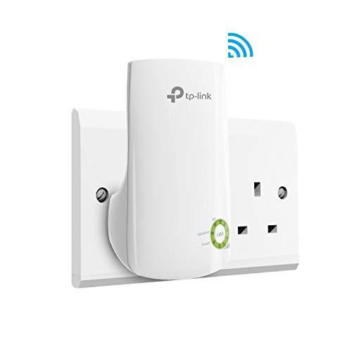TP-LINK (TL-WA854RE) 300Mbps Wall-Plug Wifi Range Extender, No LAN - UK Plug