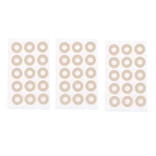 Supvox 45 Stücke Hühneraugenpflaster Blasenpflaster Hühneraugenringe Hühneraugen Ringe Pflaster Fersenpolster Druckschutz für Blasen Hornhaut Fuß Schmerzlinderung