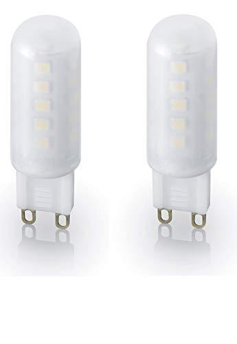 Trio Leuchten Leuchtmittel, Acryl, G9, 3 W, Weiß, 18 x 18 x 55 cm