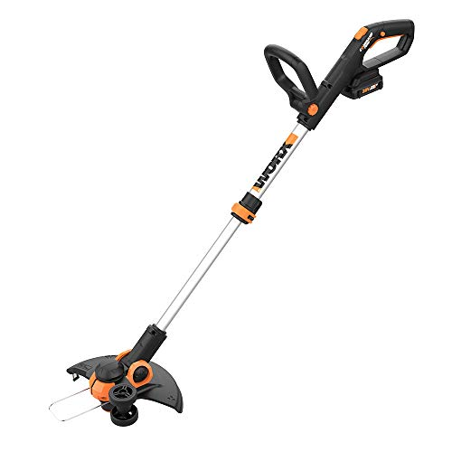 "Find Bargain Worx WG163.4 20V Cordless 12"" Grass Trimmer/Edger with Command Feed; 3 20V Batteries,..."