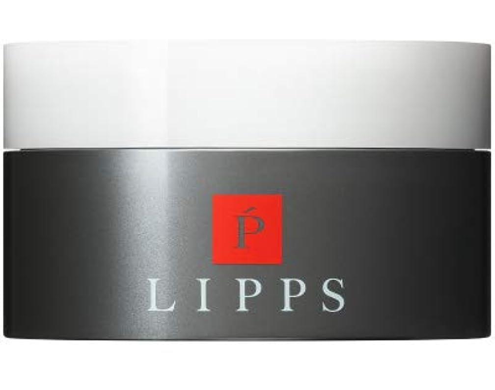 お父さんどれ量で【立ち上げ×シャープな束感】LIPPS L14フリーハードワックス (85g)