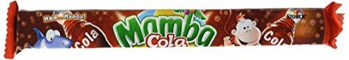 Mamba Kaubonbon Cola – Kleine Bonbons mit Colageschmack – Fröhliche Süßigkeiten zum Naschen für dieganze Familie – (24 x 4er Stangen)