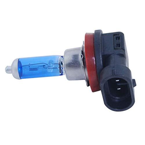 XJX 2pcs/lot H11 12V 6000K Car Lamp Light Lamp 55W Head Light Bulb White Light Car Styling