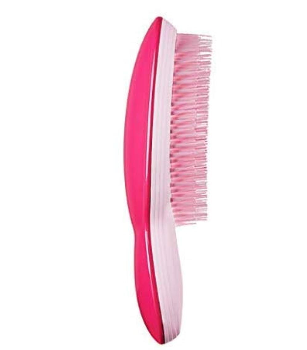 円形の俳優スリルケイト王ハオは、旬の髪の櫛のマッサージは、美しい髪のかつらの髪の延長特別な家庭用櫛 (Color : ピンク)