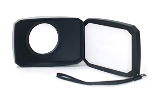 Parasol de lente gran angular 16:9 compatible con Sony FDR AX33 /b...