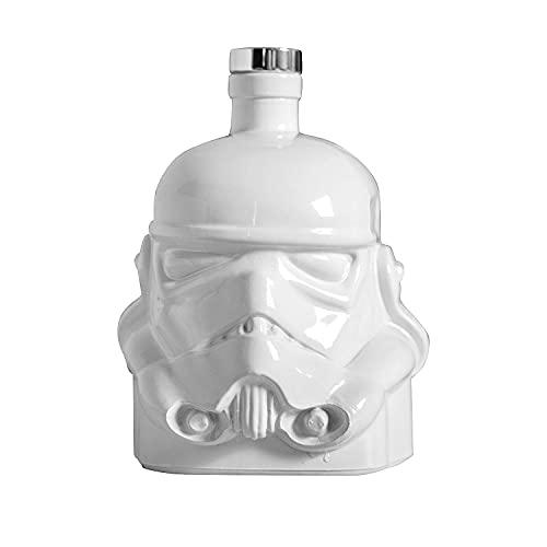 Original Stormtrooper Karaffe weiß - mit Korkenverschluss, Fassungsvermögen ca. 750 ml.