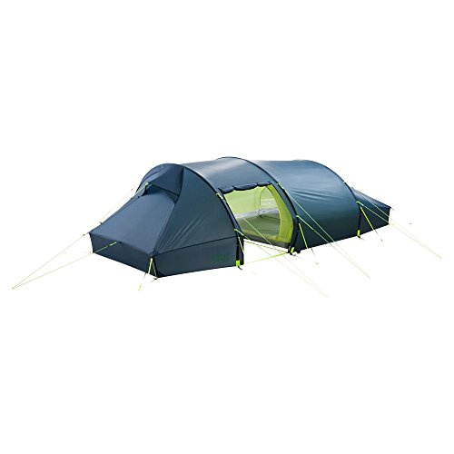 Jack Wolfskin Unisex– Adult's Lighthouse Iii Rt Dome Tent for Camping, Steel Blue, Standard