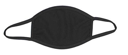 S.B.J - Sportland Mund-Nase-Maske Baumwolle schwarz | Gesichtsmaske
