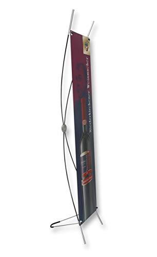 X-Banner ohne Druck 50cm x 200cm Werbedisplay Aufsteller Werbebanner Display Neu Spuckschutz