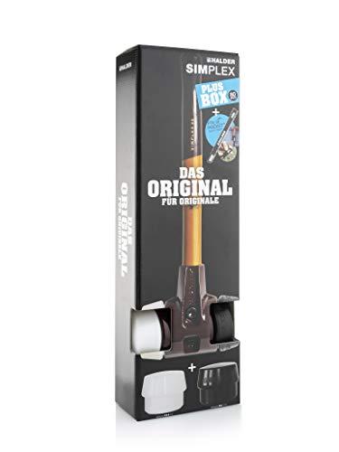 Halder 3027s009 SIMPLEX-Schonhammer PLUSBOX für den GaLaBau, 80 mm