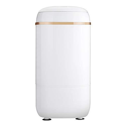 XIARI Lavadora, minilavadora, Lavadora para Acampar, lavarropas, para Solteros o Estudiantes, Capacidad de 4.5 kg, Potencia de Lavado de 220 W,Blanco,White